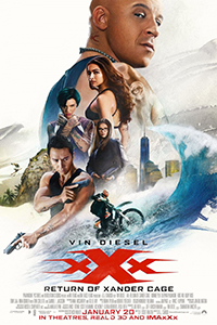 xXx: Return of Xander Cage (3D) (PG15) (Eng)