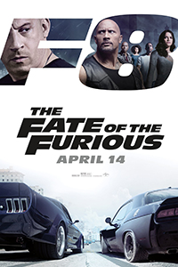 Fast and Furious 8 (MX4D / 2D) (PG15) (Eng)