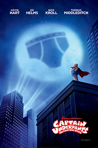 Captain Underpants: The First Epic Movie (2D) (G) (Eng)