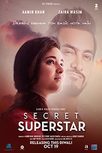Secret Superstar (2D) (PG13) (Hin)