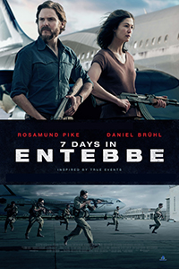 7 Days in Entebbe (2D) (18TC) (Eng)