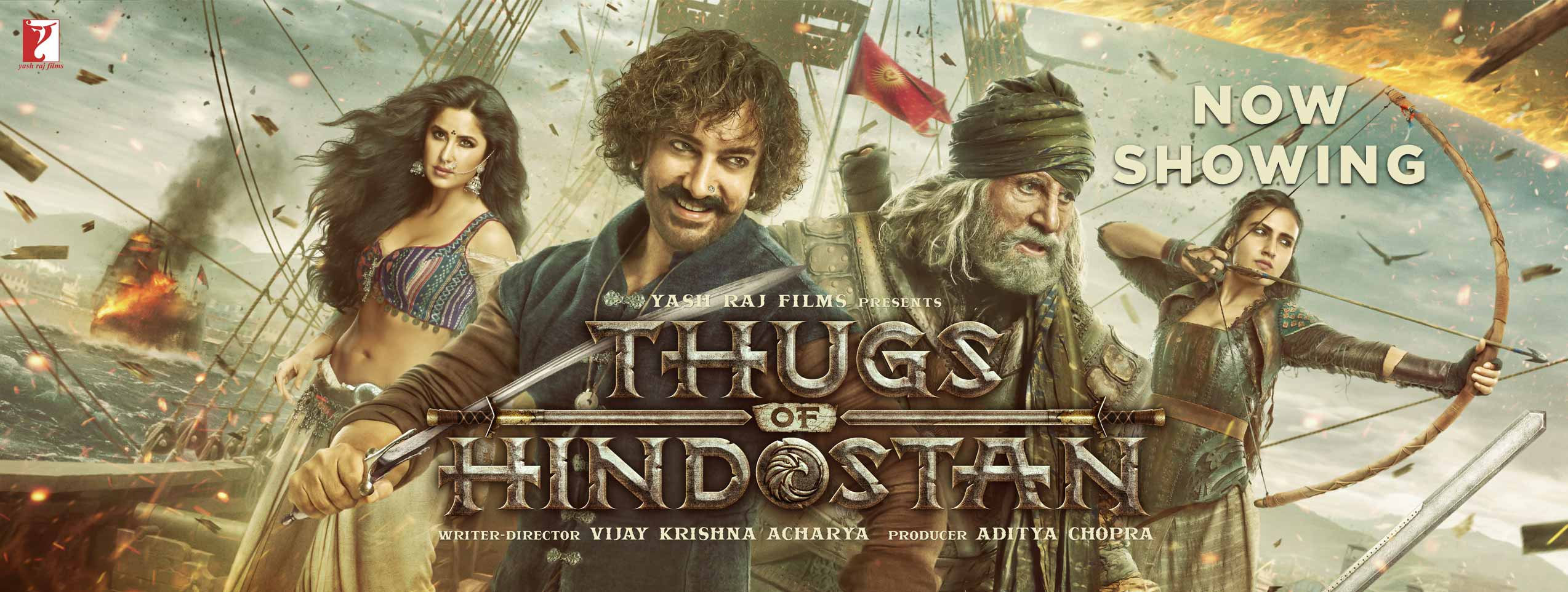 Thugs of Hindostan (2D) (PG13) (Hin)